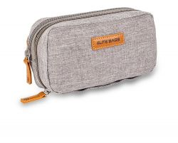 Quality pen case for accessories for diabetics - Gray