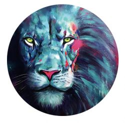 Freestyle Libre sensor sticker - colorful lion