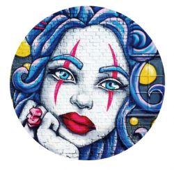 Freestyle Libre sensor sticker - graffiti