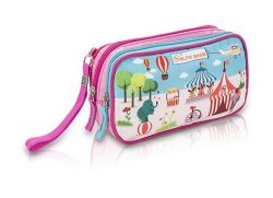 Playful bag for accessories and personal belongings.