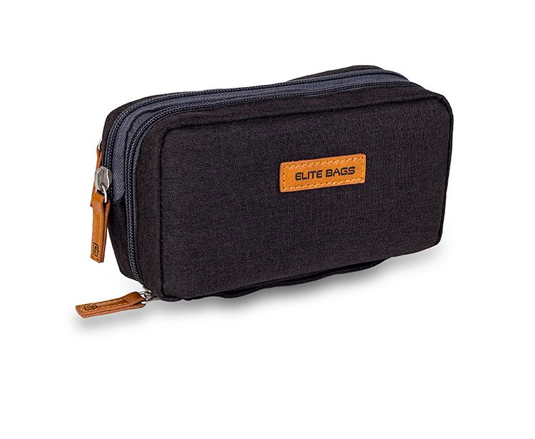 Case for storing diabetic accessories and insulin