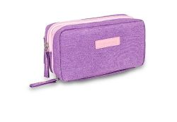Diabetic carrying case for accessories - Purple