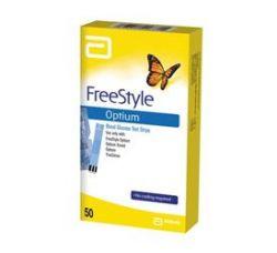 FreeStyle Optium test strips 50 pcs