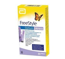 FreeStyle Optium Beta-Ketone 10 test strips Abbott