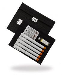FRIO Extra Large Wallet cooling case for insulin pen.