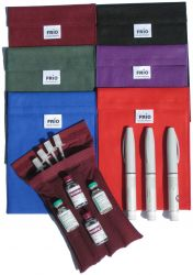FRIO Large Wallet cooling case for insulin pen. | purple, red