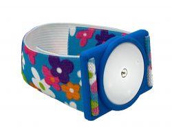 Plastic holder for Freestyle Libre sensor  - blue