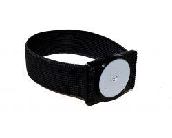 Plastic holder for Freestyle Libre sensor - Black