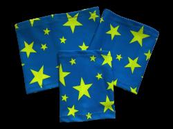 Elastic armband - Star - blue background   Size 14 - 17 cm, Size 17 - 22 cm, Size 25 - 30 cm, Size 28 - 36 cm