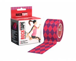 RockTape Kinesiology Tape - Romby pink