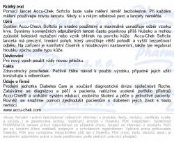 Accu Lancets - Chek Softclix - 200 pcs Roche