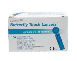 Lancets Genteel Butterfly Touch - 100 pcs