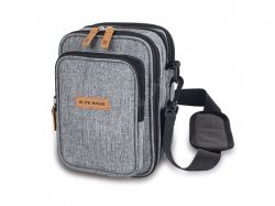 Multifunctional bag / backpack for diabetics - gray