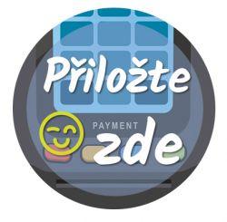 Freestyle Libre sensor sticker - Attach here