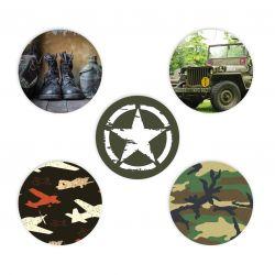 Sticker set Freestyle Libre  - Army