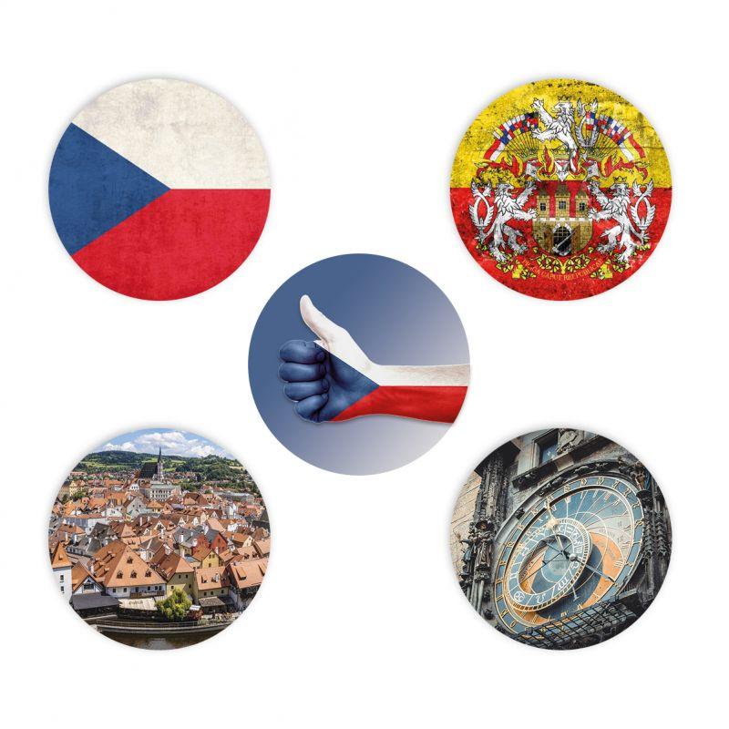 Sticker set Freestyle Libre - Czech Republic