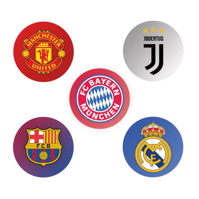Sticker set Freestyle Libre - football teams
