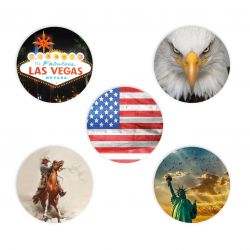 Sticker set Freestyle Libre - USA