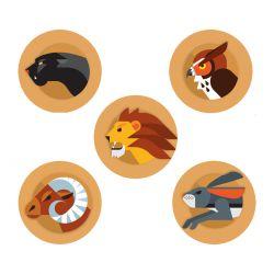 Sticker set Freestyle Libre - Animals