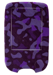 Sticker for Freestyle Libre reader - Purple military