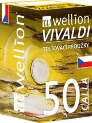 Wellion® CALLA Vivaldi test strips - pack of 50 pcs