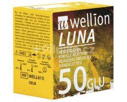 Wellion LUNA test strips - pack of 50 pcs