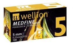 Wellion Insulin needles MedFine length 5mm