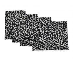 Elastic armband -  Grey leopard | Size 16 - 21 cm, Size 20 - 26 cm, Size 25 - 30 cm, Size 28 - 36 cm