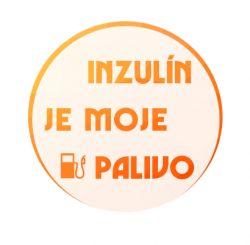 Freestyle Libre sensor sticker - Insulin is my fuel