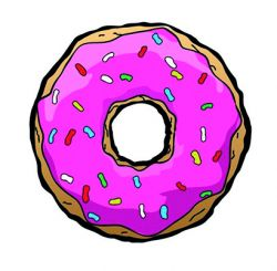 Freestyle Libre sensor sticker - Donut