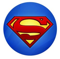 Freestyle Libre sensor sticker - Superman