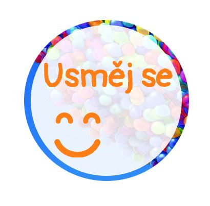 Freestyle Libre sensor sticker - Smile